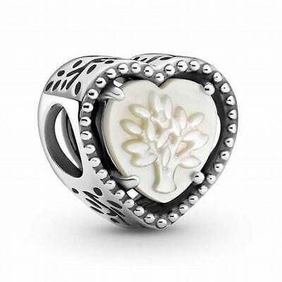 AU58.99 • Buy PANDORA Charm Sterling Silver ALE S925 NEW OPENWORK HEART FAMILY TREE 799413C01