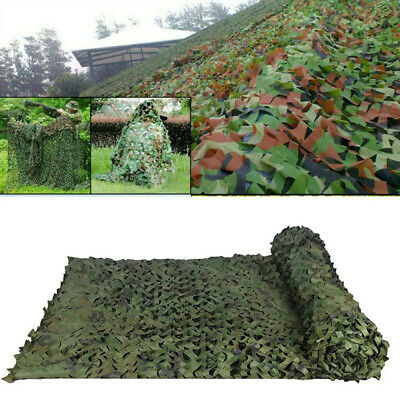 £4.99 • Buy Army Camouflage Net Camo Netting Camping Shooting Hunting Hide Woodland Game UK