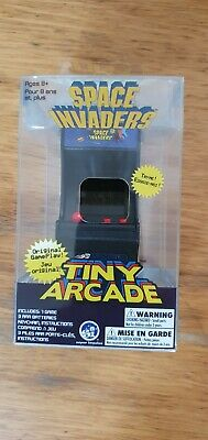 £18 • Buy Tiny Arcade Space Invaders Miniature Replicas Vintage Full Size Arcade Video NEW