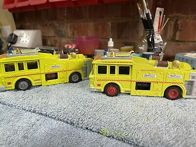 £40 • Buy Dinky 263 'erf Airport Fire Rescue Tender/engine' Yellow.heathrow Airport