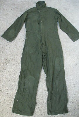 $25 • Buy US Military Olive Green Men's Type I 100% Cotton Coveralls - Size Medium