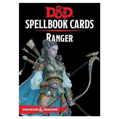 AU7.60 • Buy Dungeons And Dragons 5E RPG Ranger Spell Deck (46 Cards) By Galeforce 9 GF9C5671