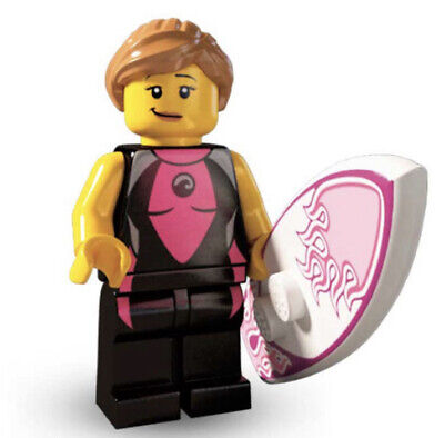 £4.50 • Buy LEGO SERIES 4 SURFER GIRL MINIFIGURE (col04-5) - NEW