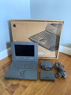 $399 • Buy Macintosh Apple Powerbook Duo 230 W Box, Charger, Great Condition!! RARE! M7777