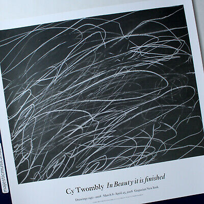 £145.49 • Buy Cy Twombly 2018 Exhibition Poster