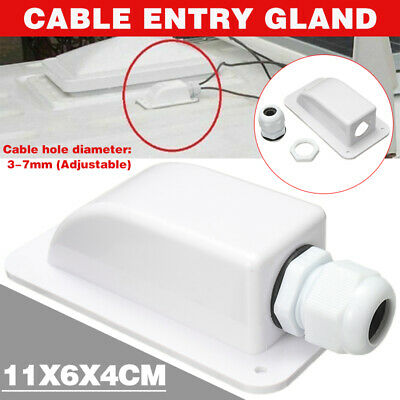 £3.95 • Buy Cable Entry Gland Box Solar Panel Motorhome Camper Roof RV Caravan Tool Part