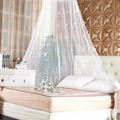 £6.99 • Buy Mosquito Net Canopy Insect Bed Lace Netting Mesh Princess Bedding Drape Cover -