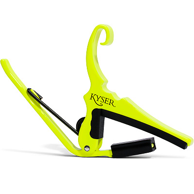 $ CDN25.11 • Buy Kyser KG6NYA Special Edition Neon Collection Quick-Change Capo, Neon Yellow