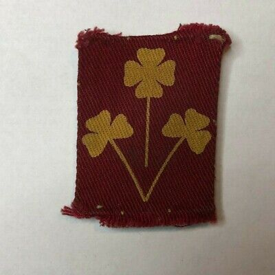 £74.90 • Buy WW2 8th Infantry Division (India) 1940-46 Cloth Formation Badge Patch Original