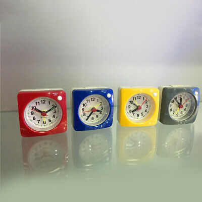 £5.85 • Buy Easy To Read Alarm Clock Bedroom Small Bedside Silent No Ticking Time Display L