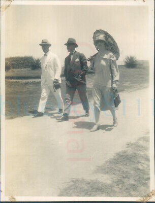 £8 • Buy 1926 Egypt Alexandria Sporting Club Guests On Way In 4x3  Orig Photo