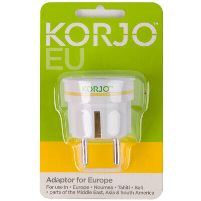 AU10 • Buy Korjo Travel Adapter For Europe EU And Australia South America Middle East Asia