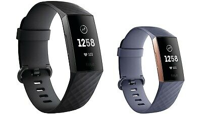 View Details Fitbit Charge 3 FB409 Fitness Tracker Watch Wearable Smartwatch - Grade C • 29.99£