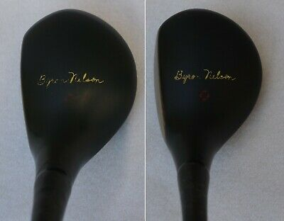 $31 • Buy  RARE Vintage MacGregor Byron Nelson PACE-MAKER #2 #3 Persimmon Wood