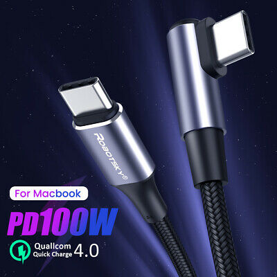 AU5.99 • Buy Type C To USB C Cable PD 60W / 100W Fast Charge Line Fast Data Transfer Cord