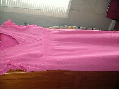 £7 • Buy Ladies Lovely Pink Dress By Penny Plain Vintage Style Size 14 It Says