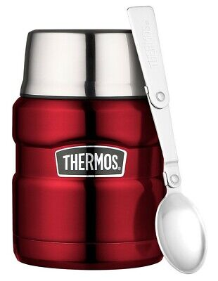 AU25.90 • Buy New THERMOS Stainless King S/Steel Vacuum Insulated Food Jar 470ml With Spoon