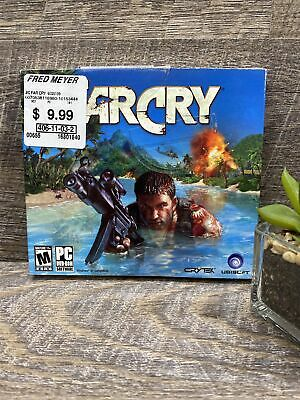 AU14.62 • Buy FarCry Ubisoft Far Cry PC 2004 5 Disc DVD-Rom Set Software Paradise Gone Wrong
