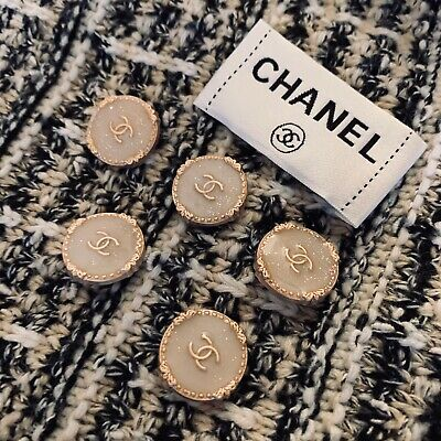£39 • Buy Chanel Buttons (set Of 5)