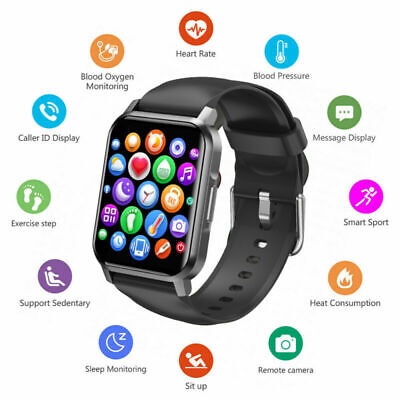 AU35.99 • Buy 2021 NK15 Smart Watch Android IPhone Heart Rate Monitor Bluetooth Waterproof-AU