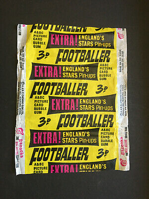 £12.50 • Buy A & Bc Gum Football Cards Star Players 1967 Wrapper