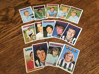 £3.30 • Buy A & Bc Gum Orange Back Football Cards 1972 Series 1 X 14 Cards