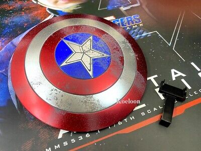 $ CDN53.40 • Buy Hot Toys MMS536 1/6th Scale Avengers Endgame Captain America Shield With Holder