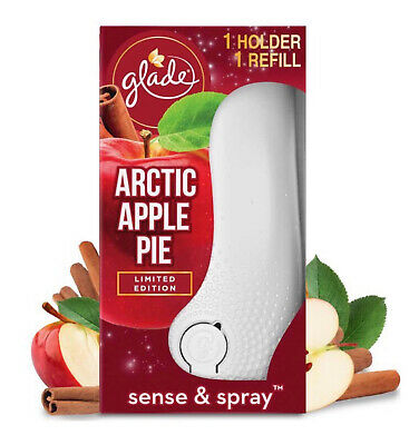 £7.99 • Buy Glade Sense And Spray Holder And Refill Arctic Apple Pie Air Freshener 18ml