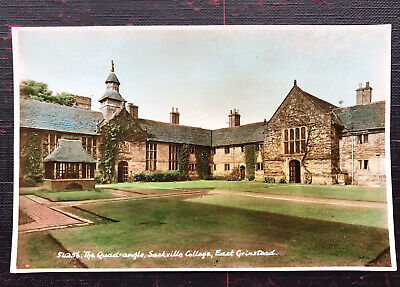 £4.60 • Buy The Quadrangle Sackville College East Grinstead Sussex Post Card