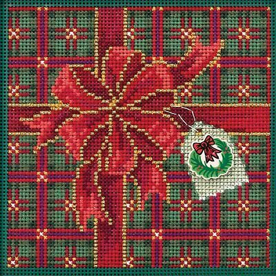 $12.99 • Buy Mill Hill 2019 Buttons & Beads Counted Cross Stitch Kit ~ Season Of Giving  ~