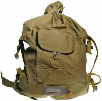$28.95 • Buy Vintage Soviet Army Duffle Bag Military Backpack Rucksack Russian USSR WWII Type
