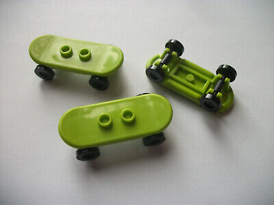 £5.08 • Buy Lego City Accessories Lot / Lime Green Skateboards
