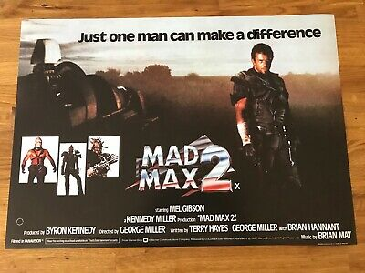 £3.99 • Buy Movie Poster Mad Max 2 420mm X 594mm A2 Size