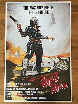 £3.99 • Buy Movie Poster Mad Max 430mm X 640mm (Bit Bigger Than A2)