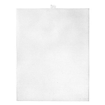 £14.16 • Buy Plastic Canvas Count Pack Of 12 Clear 10.5 X 13.5-Inch 7