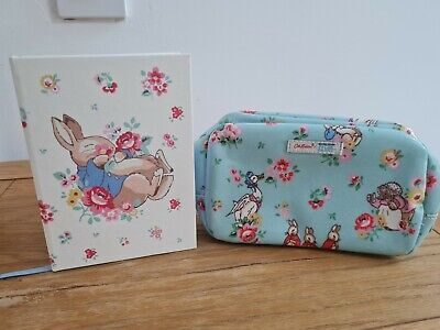 £9.99 • Buy Cath Kidston Peter Rabbit Pencil Case And Notebook