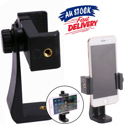 AU9.55 • Buy Tripod Adapter Cell Phone Holder Mount For Phone Universal Camera Smartphone