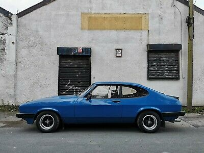 £3800 • Buy Ford Capri MK3 2.0S 1984 1.6 Laser Project Classic Daily