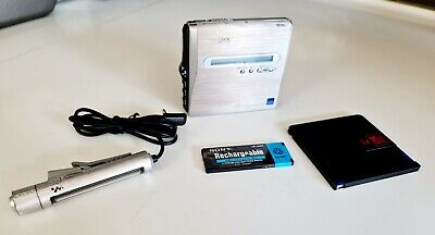 £249 • Buy Sony MZ-NH1 Personal MiniDisc Player Hi-MD Fully Working
