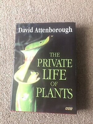 £4 • Buy David Attenborough The Private Life Of Plants Book