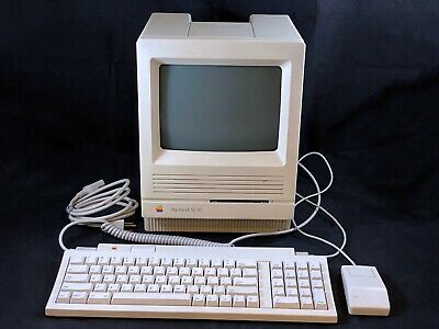 $572 • Buy Apple Macintosh SE/30 M5119 W/ Keyboard, Mouse W/ SD SCSI - Recapped & Tested!