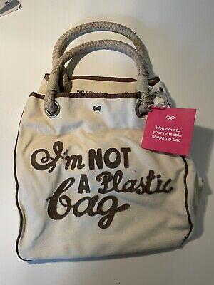 £225 • Buy Anya Hindmarch Im Not A Plastic Bag NWT Original Rare Limited Edition Tote