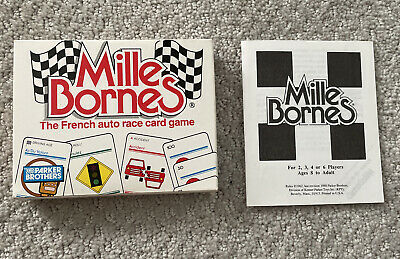 $4.95 • Buy Vintage Parker Brothers - Mille Bornes French Auto Race Card Game 1988