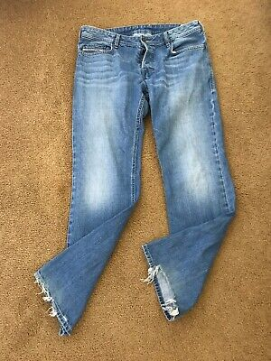$29.95 • Buy Diesel Zatiny Faded/distressed Cotton Regular-bootcut Blue Jeans 34 X 32/excelle
