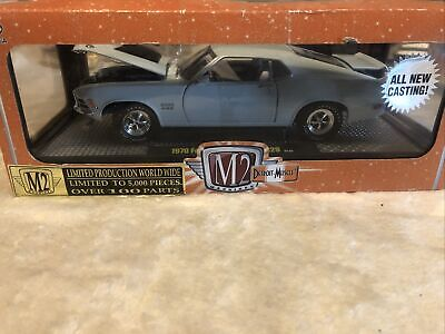 AU21.27 • Buy M2 Machines 1970 Ford Mustang Boss 429 Limited Production 1:24 1/5000