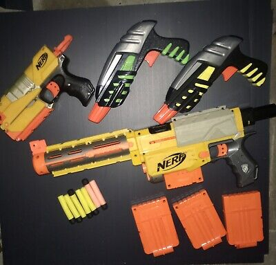 AU20.50 • Buy Nerf Guns X 5 And Accessories. Good Working Condition