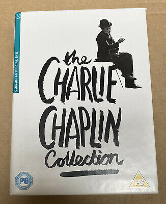 £12.99 • Buy THE CHARLIE CHAPLIN  COLLECTION 12 DISCS DVD- Two Scratched Discs Still Work