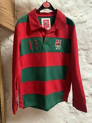 £2.50 • Buy Wales Rugby Shirt Age 11-12