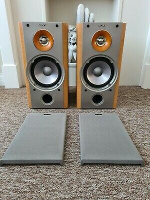 £50 • Buy Sony SS-NX1 Magnetically Shielded Hi-fi Stereo Speakers
