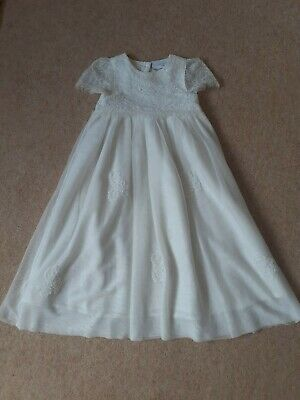 £5 • Buy Baby Girls Next Christening Gown Age  6-9 Months